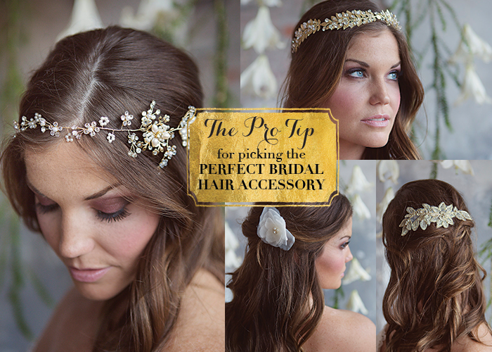 The Pro Tip For Picking The Perfect Bridal Hair Accessory The