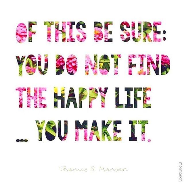 Go make your happy!  Via @kassidymickelle