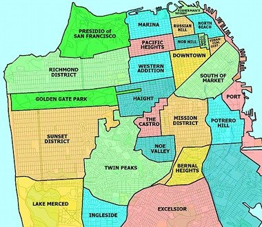 HVAC & Appliance Service Area - Most of San Francisco and North Peninsula.