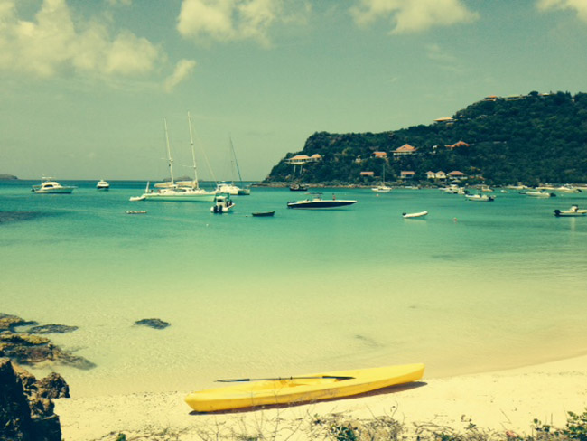 Eden Roc Beach on St. Barths