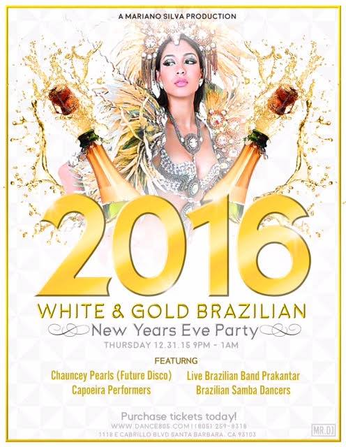 Brazilian New Years Eve Party