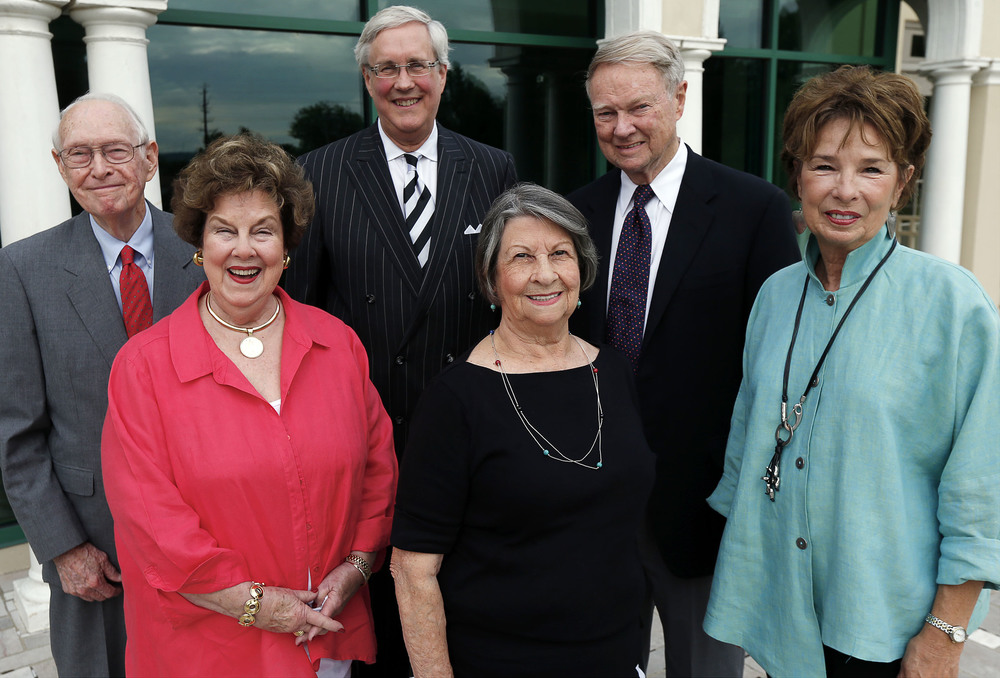 The 2014 Tulsa Hall of Fame inductees. Rosalind Cook on far right. Photo: courtesy tulsahistory.org
