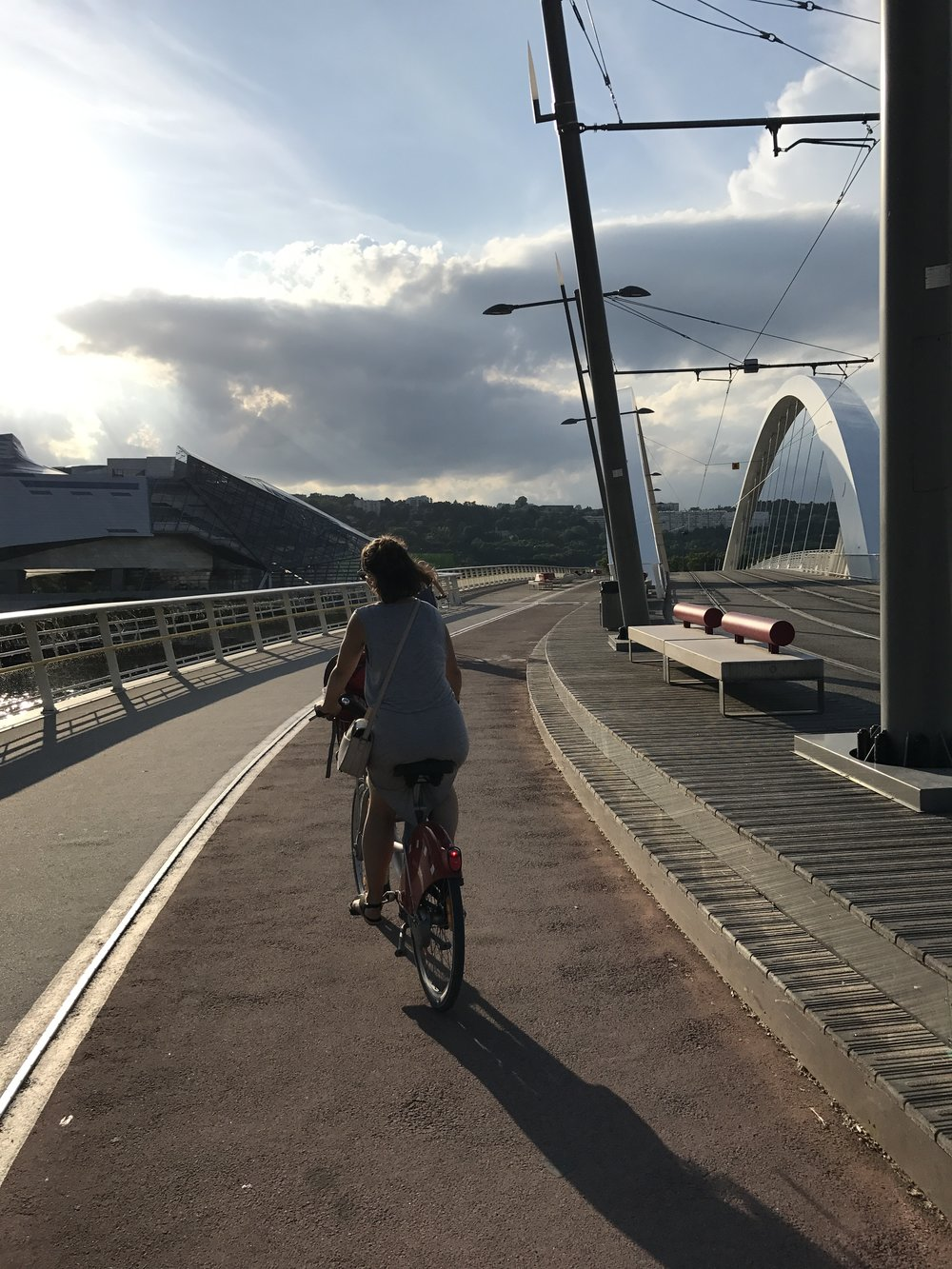 More than 650 km of safe cycle lanes, bridges and connections.