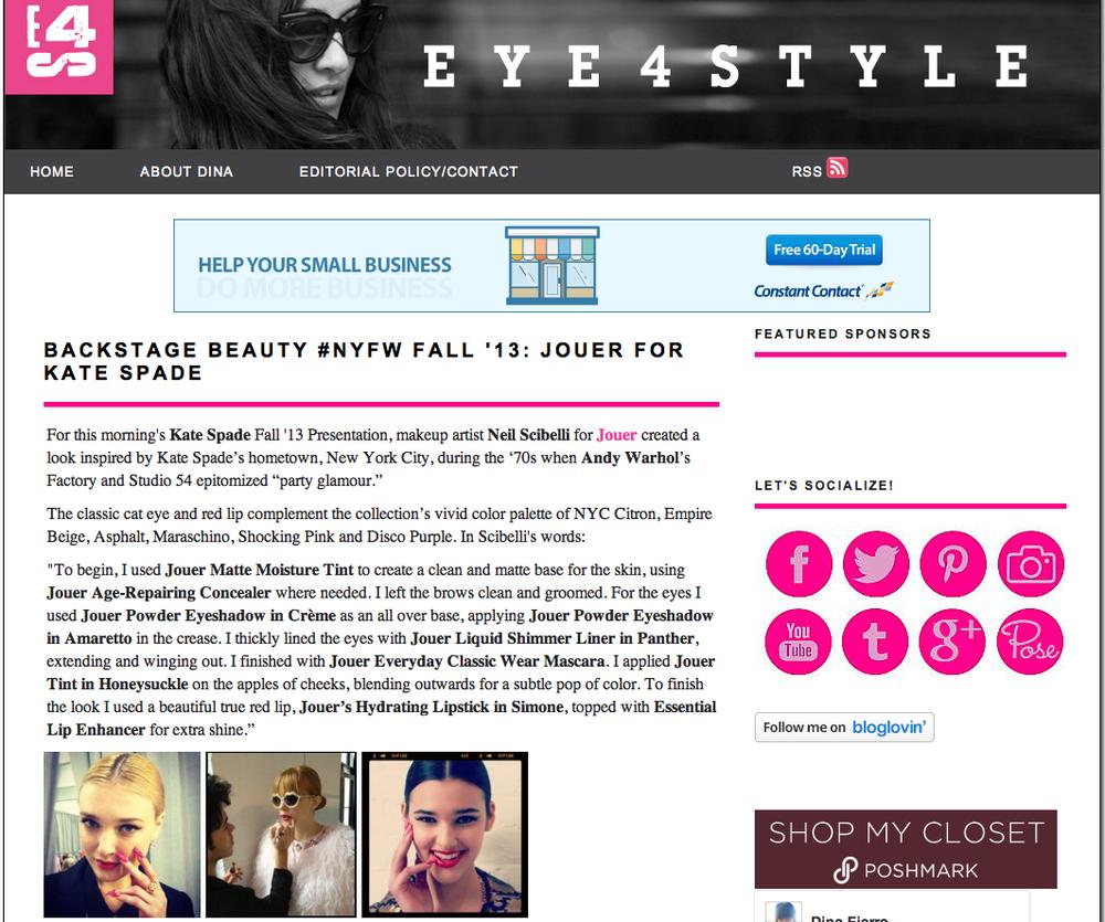 EYE4STYLE Blog