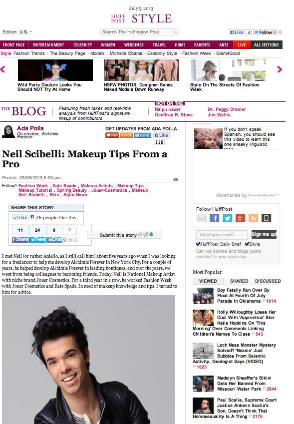 Huffington Post Style