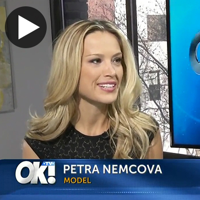 TV - Petra Nemcova - OK! TV Interview