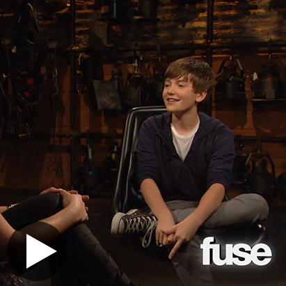 TV: Greyson Chance - hair and makeup - FUSE TV Interview