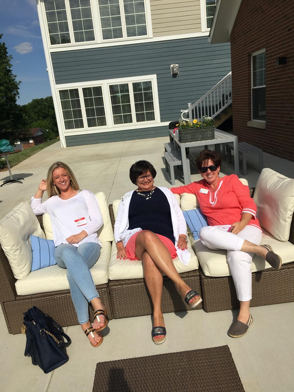 Emily Newman, Jan Wacker & Julie Newman (BHGH)