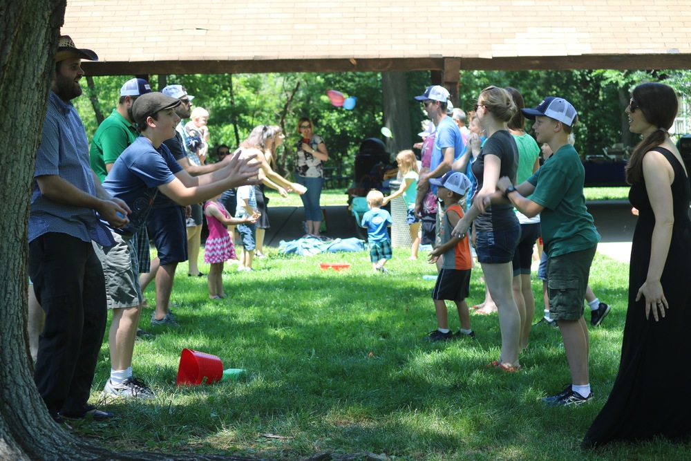 Vessel had a blast with its first ever water balloon toss!