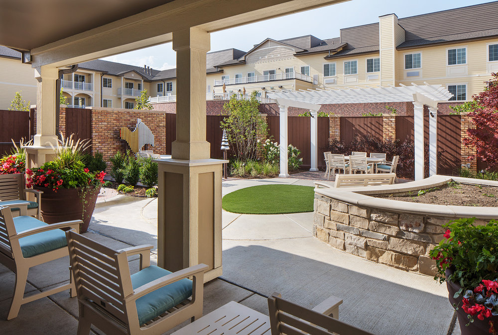 Green Oaks Senior Living; Green Oaks, IL; Vessel Architecture & Design; Darris Lee Harris Job#1435