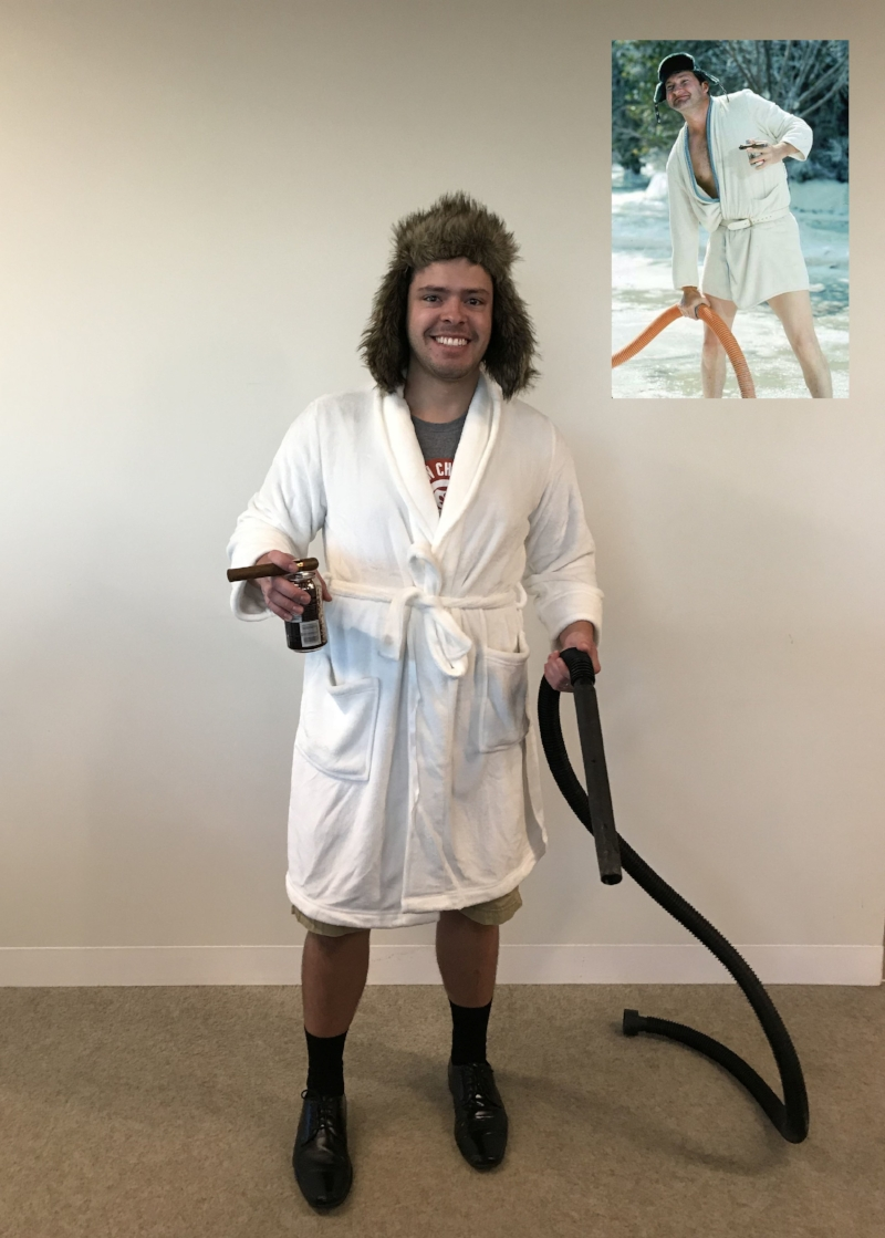Mike as Cousin Eddie