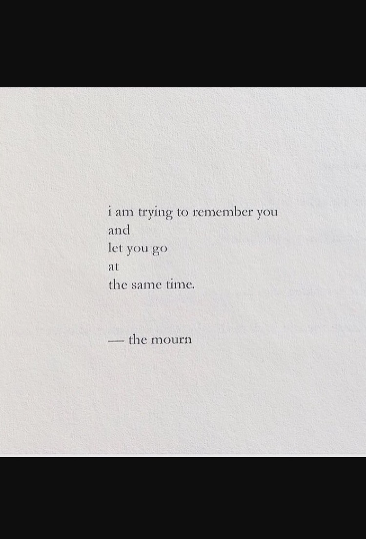 Nayyirah Waheed the mourn