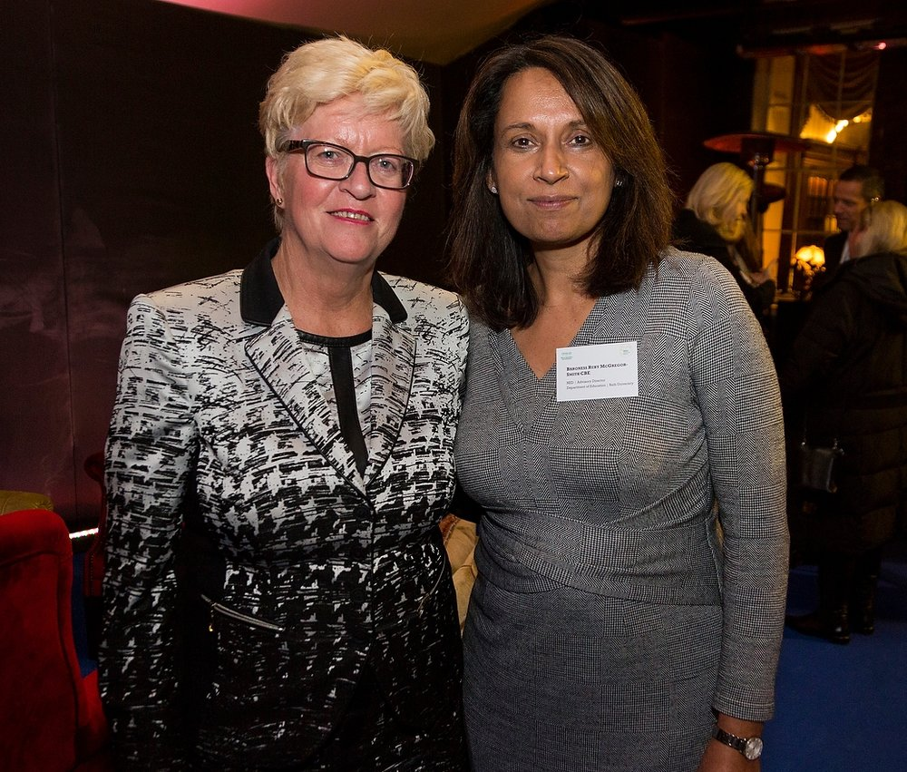 Baroness Ruby McGregor-Smith and Helen Pitcher OBE.