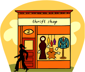 Thrft Shop We Are Open!  VOLUNTEERS are welcome