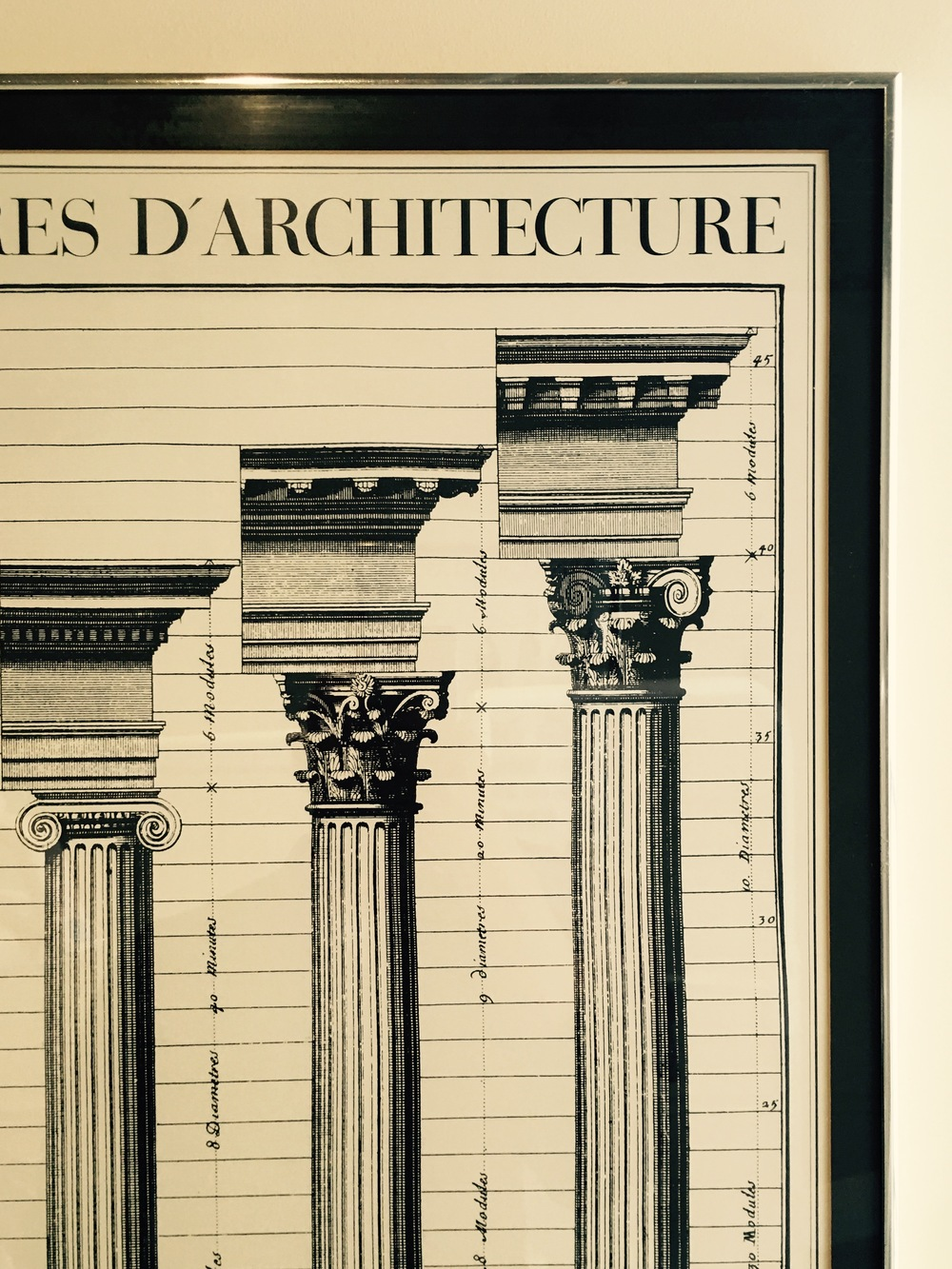 San Francisco dental office architectural wall art