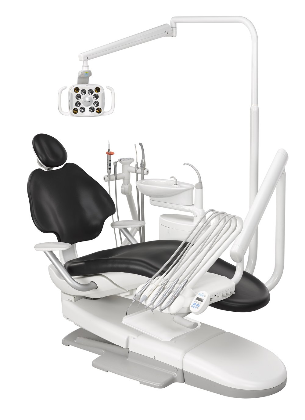 A-Dec 511 dental chairs in every op in our San Francisco dental office