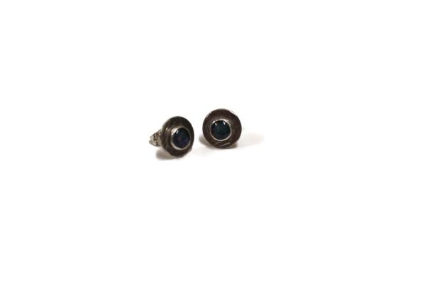 small opal stud earrings