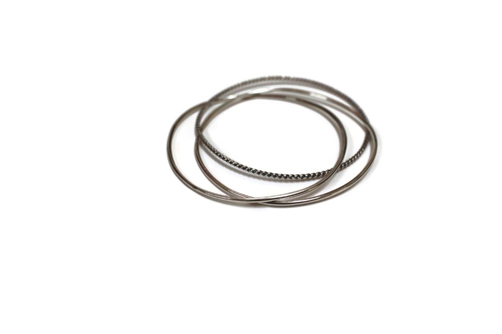 trinity bracelet set