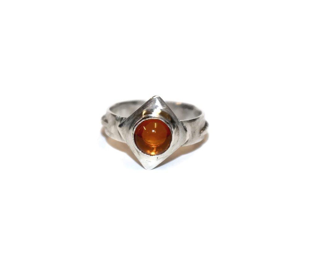 Fire opals -