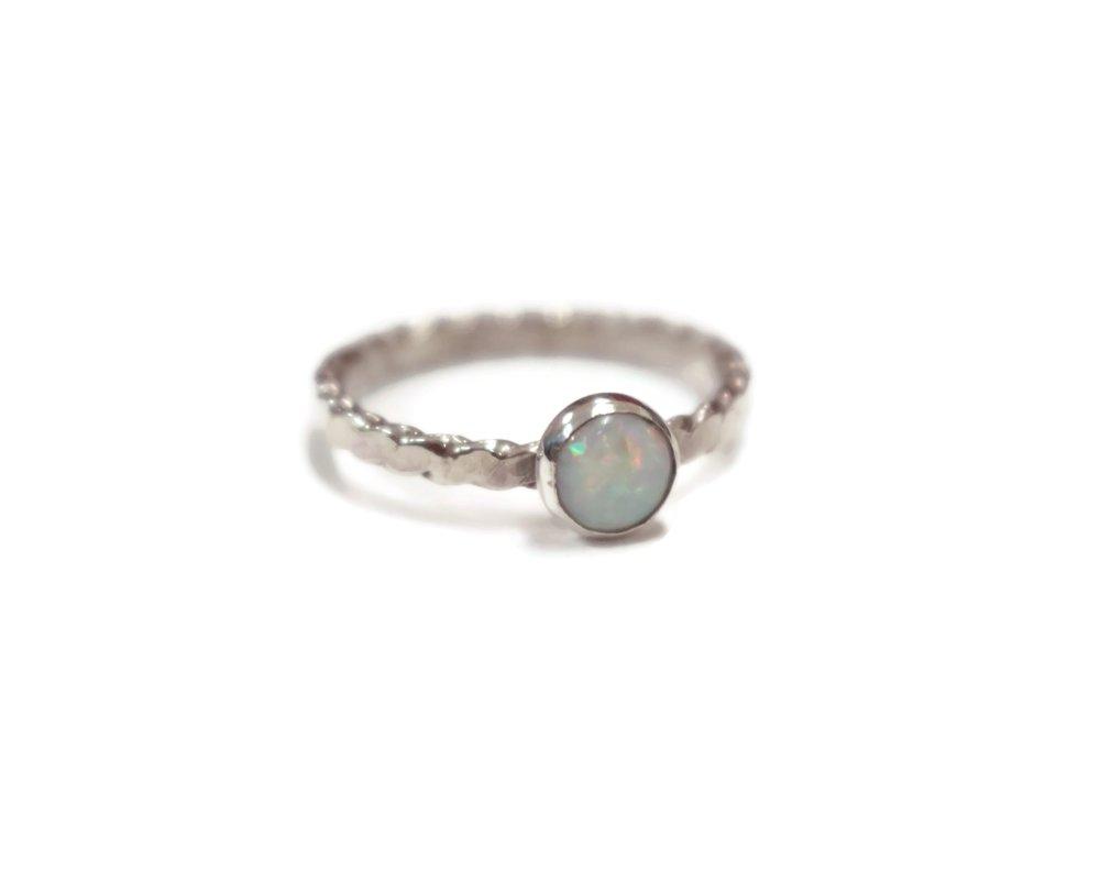 White opal -
