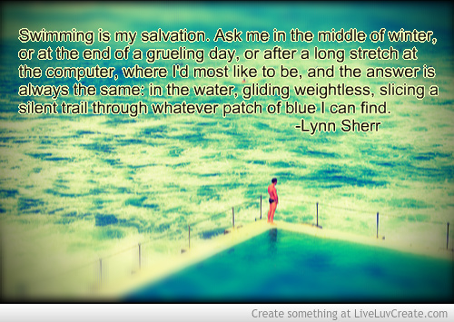 Swimmer Quotes Quotes Swimming Quotes For Swimmers