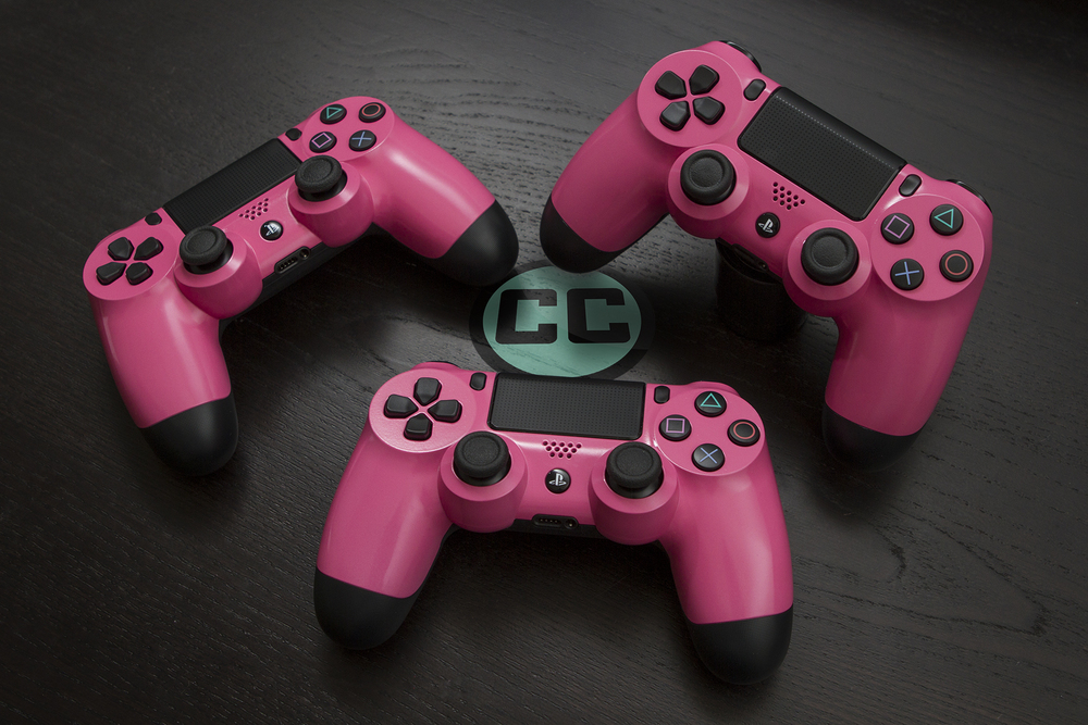 Bubblegum Pink PS4