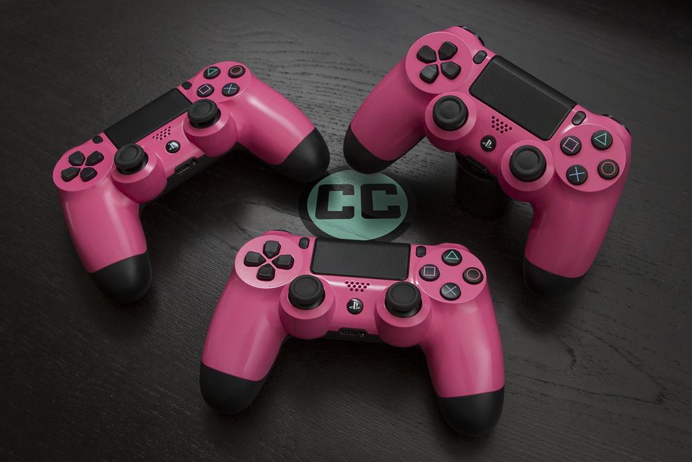Bubblegum Pink PS4