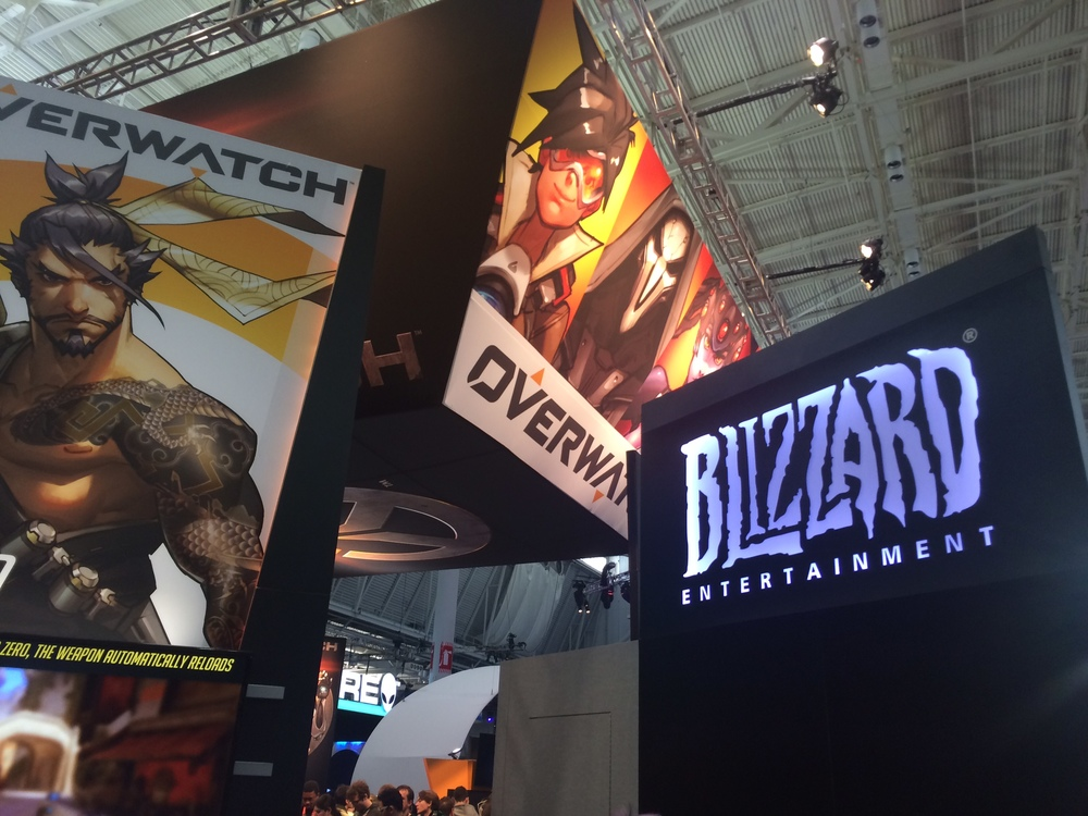 blizzard pax east 2015 overwatch