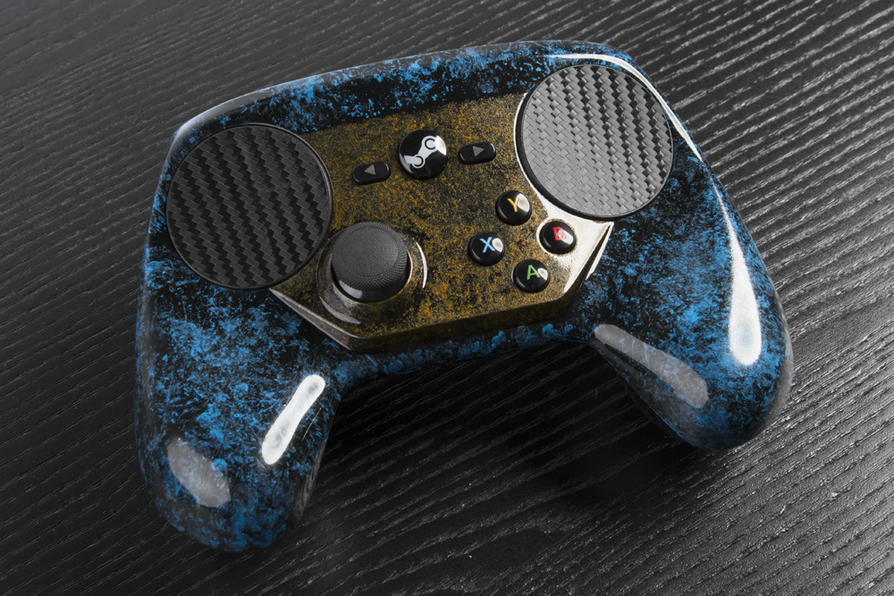 The World S First Custom Painted Steam Controller