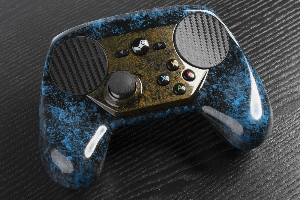 Worlds First Custom Steam Controller