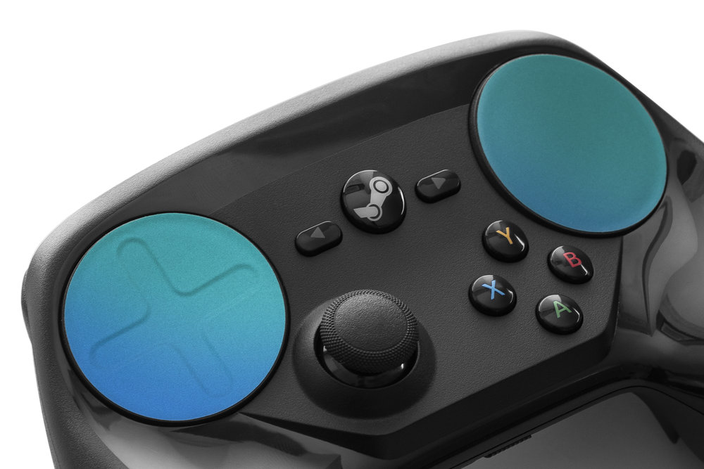 TouchProtect Satin - Wave Blue - Steam Controller