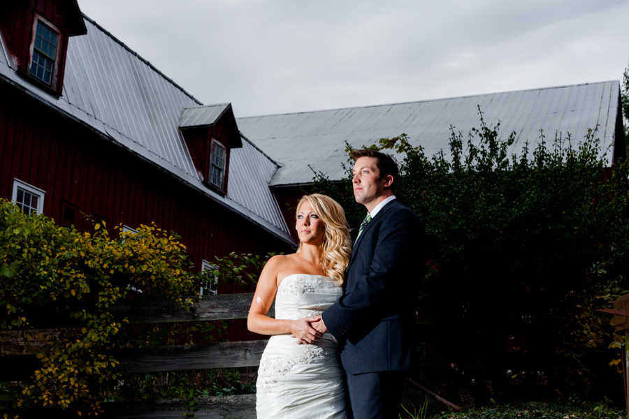 Bride-Groom-Barn-Dramatic