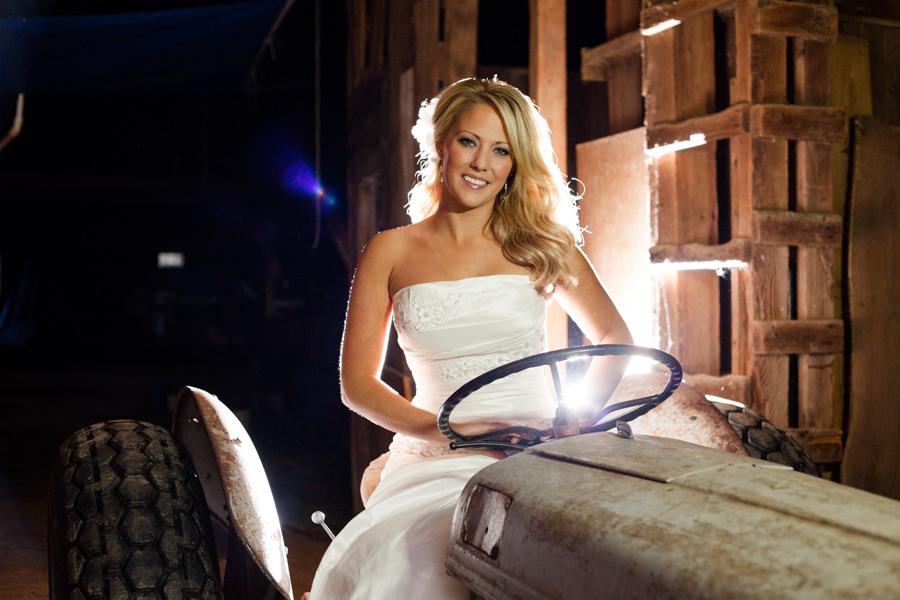 Bride-On-Tractor