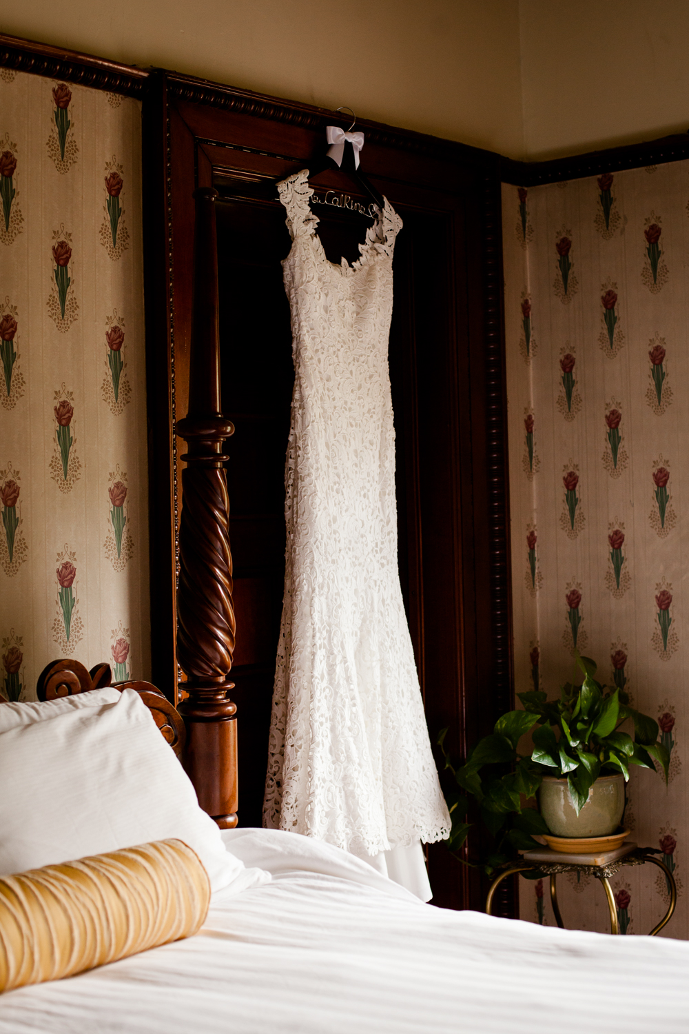 white lace wedding dress in Geneva New York