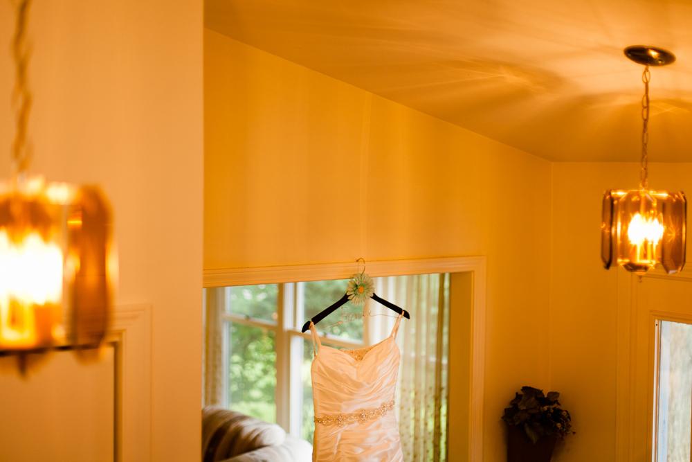 A wedding dress in Syracuse, NY