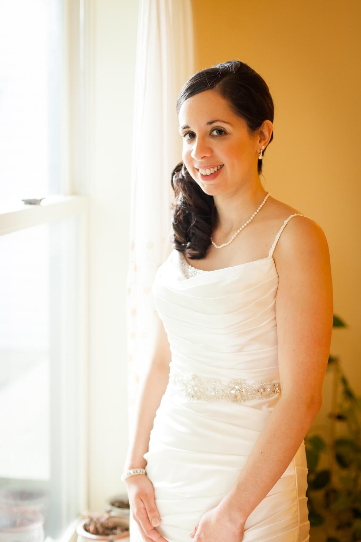 A beautiful bride in Syracuse, NY