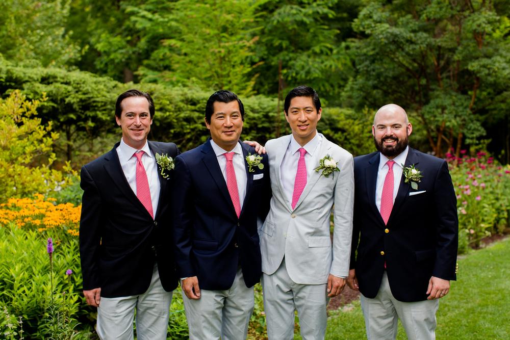 groomsmen.