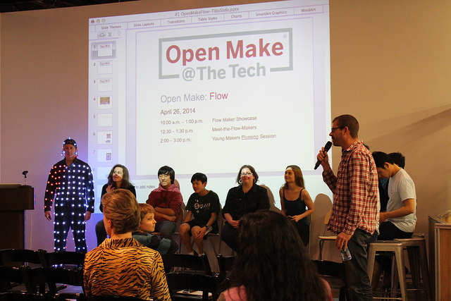 Meet the Makers Panel | Photo courtesy The Tech Museum of Innovation, used with permission