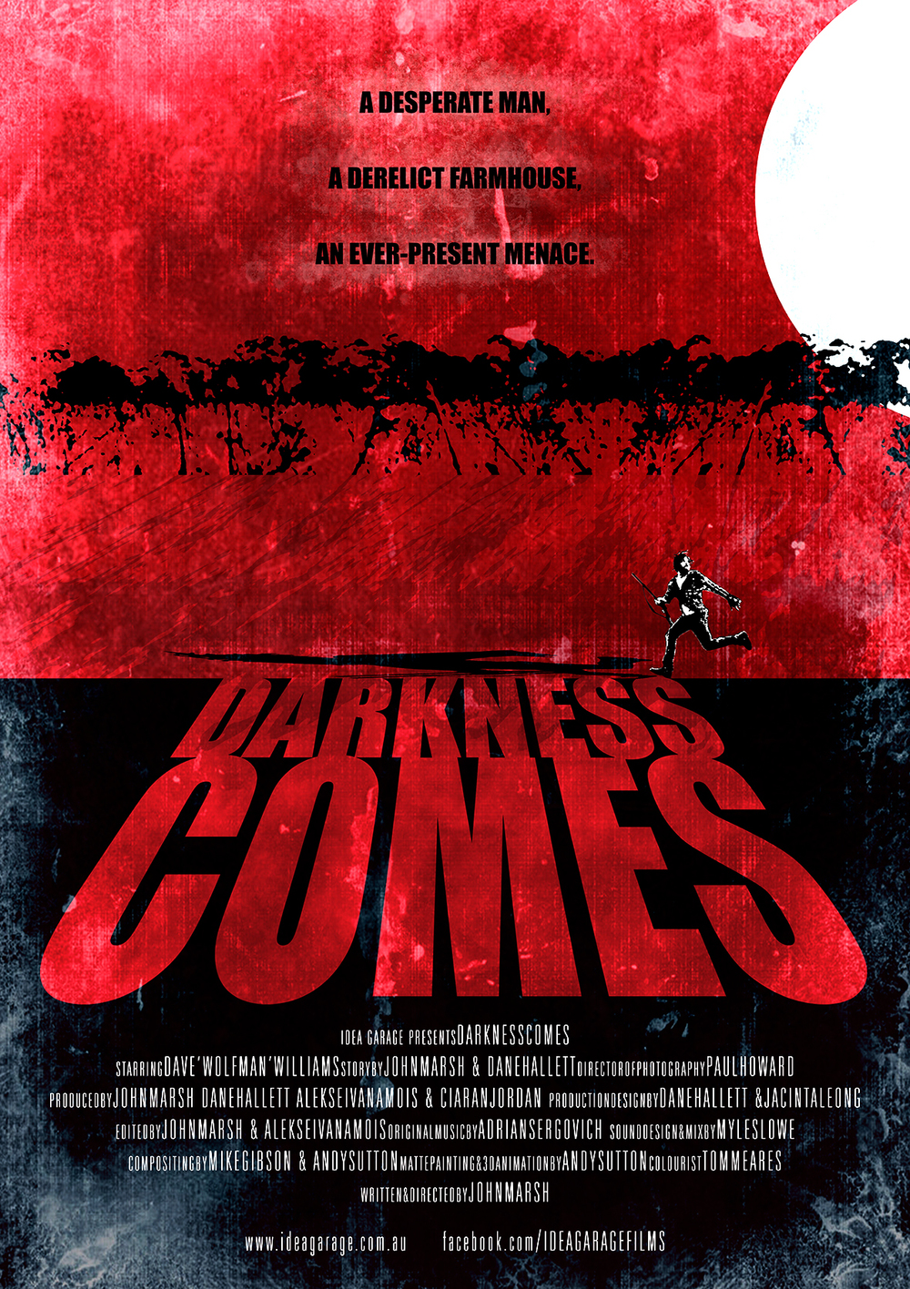 DARKNESS COMES (short film)