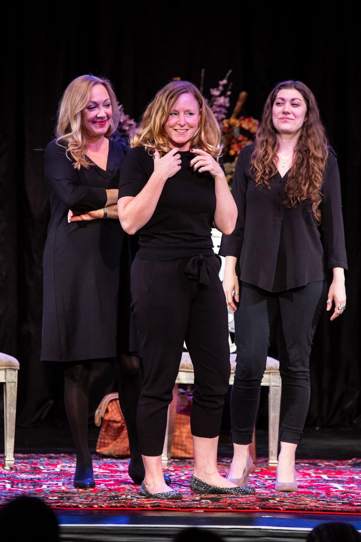 Sisters - Michelle Maida, Deanna Wells Olivia Weiss - Love Loss photo by David Kinder.jpg