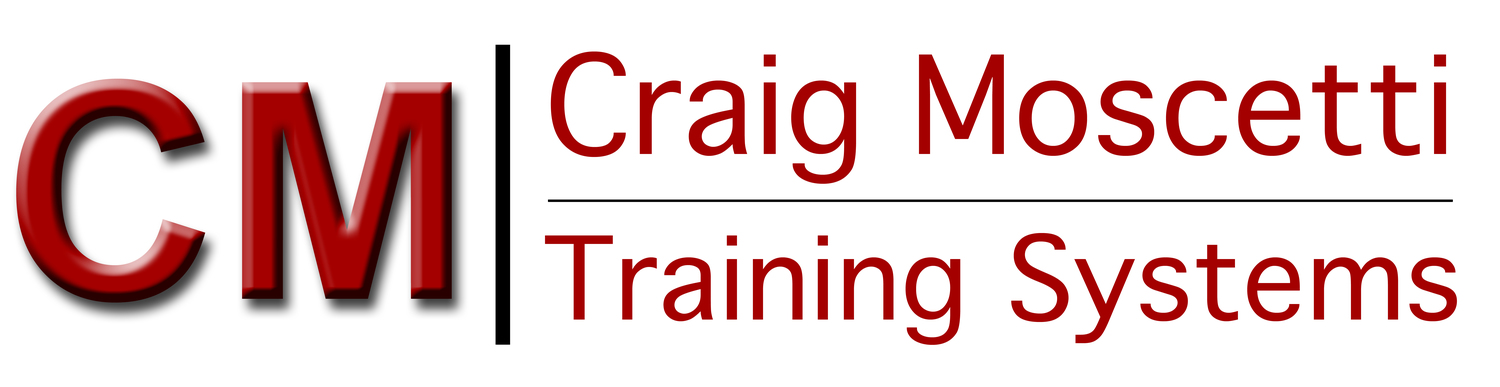 Craig Moscetti Training Systems