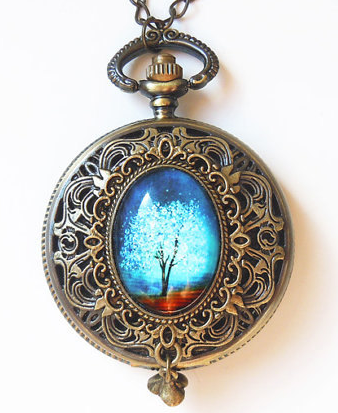 Wearable Art Pocket Watch from YouMin $65