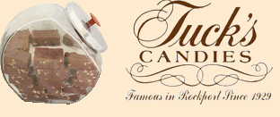 Tuck's Candies - Famous in Rockport Since 1929