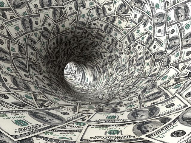 Dollars funnel.
