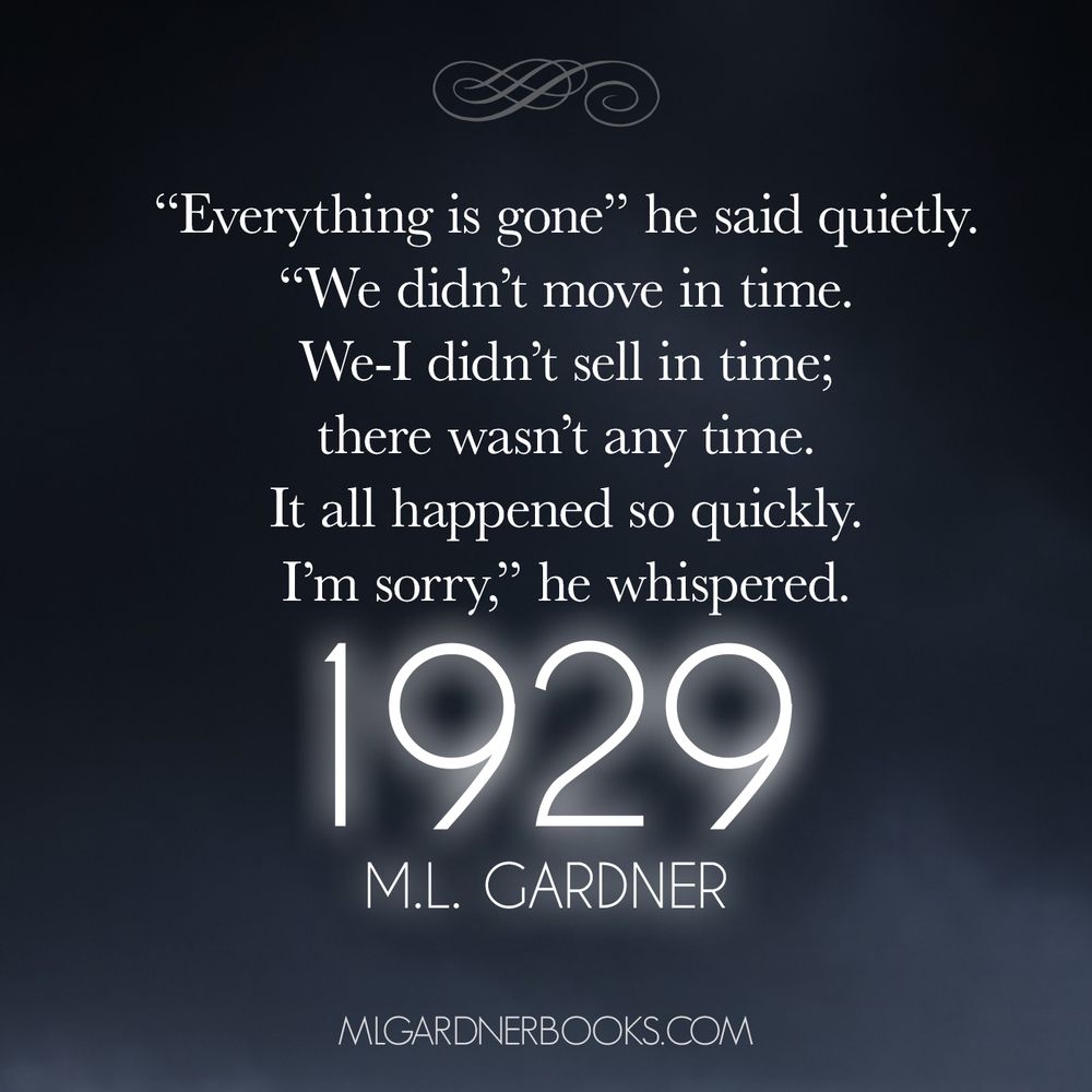 Quote 1 1929 by M.L. Gardner