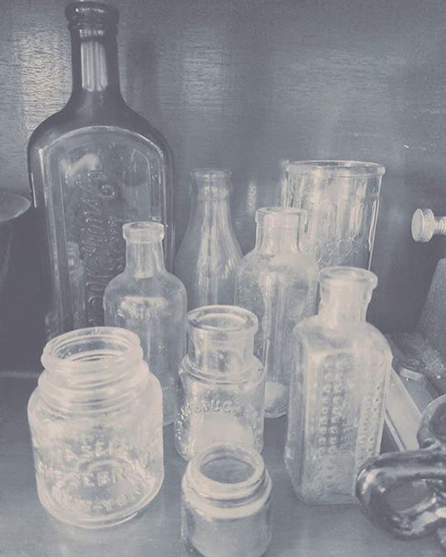 Day five of black and white. . . . #MLGardner #1929Series #blackandwhitephoto #7daysofblackandwhite #author #writer #bookish #bookstagram #1929 #vintage #mylife #writersofinstagram #authorsofinstagram #igreads #photography #bottles #antiques