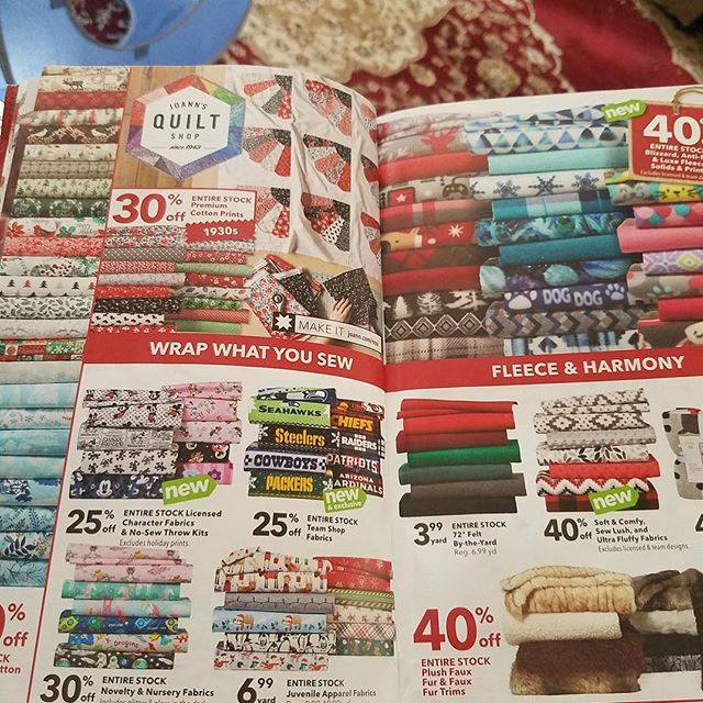Mega sale at @joann_stores . Oh crap. It's on. . . . #MLGardner #1929Series #1929 #sewingmaniac #makersmovement #smallbusiness #makersgonnamake #maker #handmade #diy #sewing #AverysAunt #buyhandmade #handcrafted #Montana #sewingtime #writer #author #creativelifehappylife