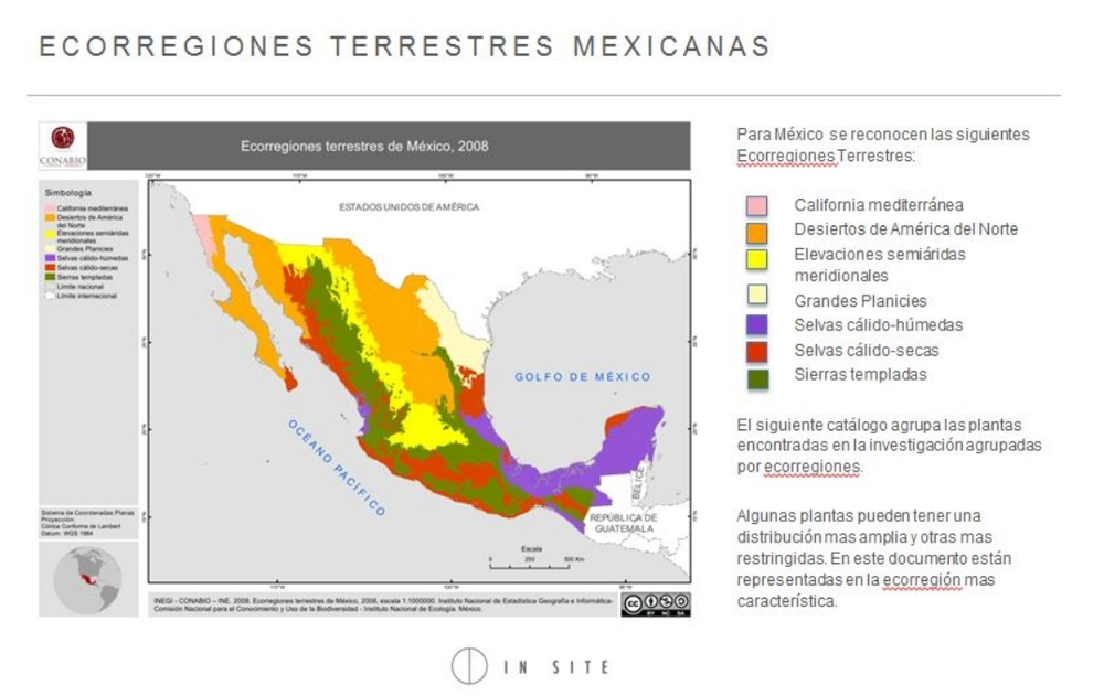 Mexican Eco-regions CONABIO