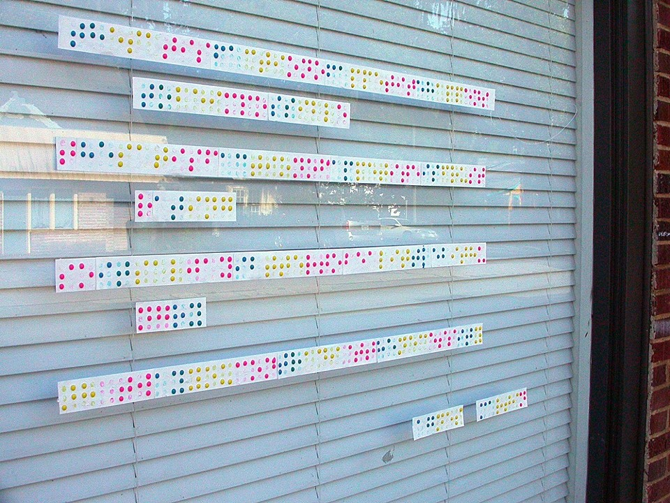 Candy Braille  An exploration  Ongoing since 2007  Shown during  Savannah Open Studios 2008