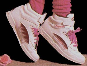 I loved LA Gear sneakers! The only problem was if you were wearing them and one of those flare things ripped you would go from uber cool to total loser.
